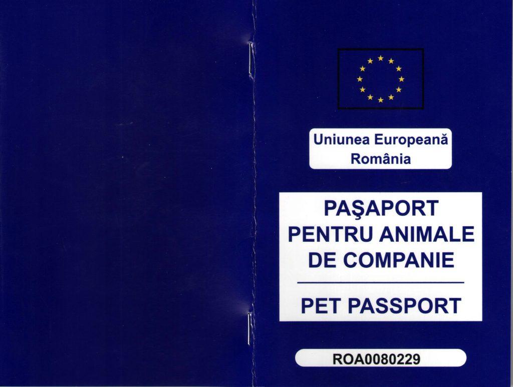Transport caini si pisici - Pasaport PG0